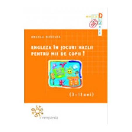 Engleza în jocuri hazlii pentru mii de copii! (3-11 ani)