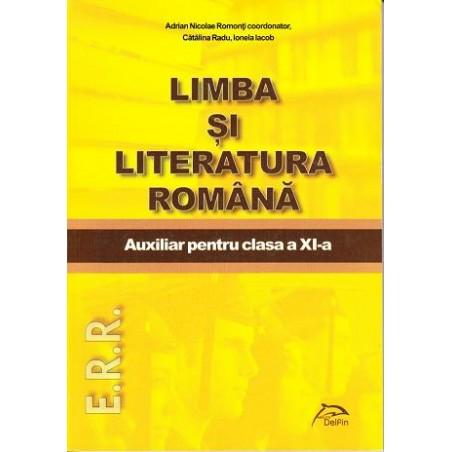 Limba și literatura română. Auxiliar pentru clasa a 11-a