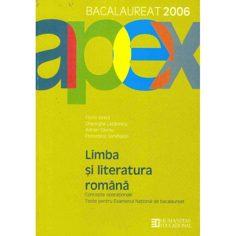 Limba și literatura română - teste pentru examenul de bacalaureat