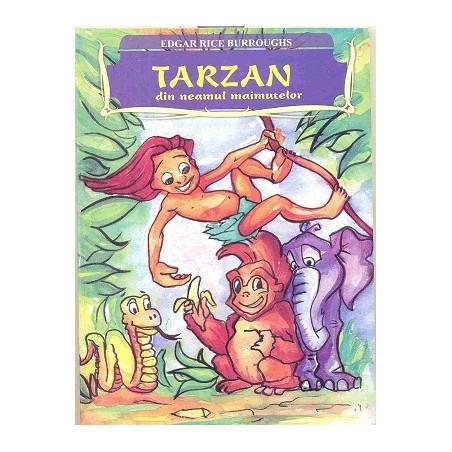 Tarzan din neamul maimuțelor