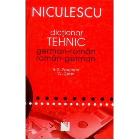 Dictionar tehnic german-român, român-german
